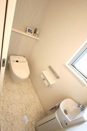 省スペースのトイレでもリラックス満載の空間に