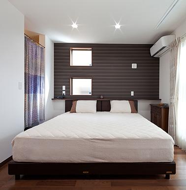 ぐっすり安眠するための条件がすべて叶った寝室