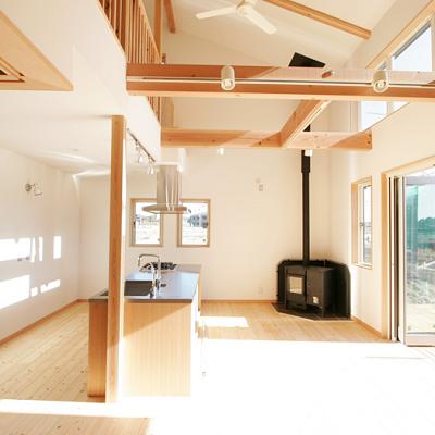 空間・光無垢スタイル建築設計画像